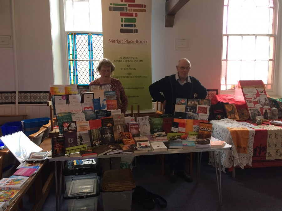 Market Place Books, Kendal provided the bookstall at Synod