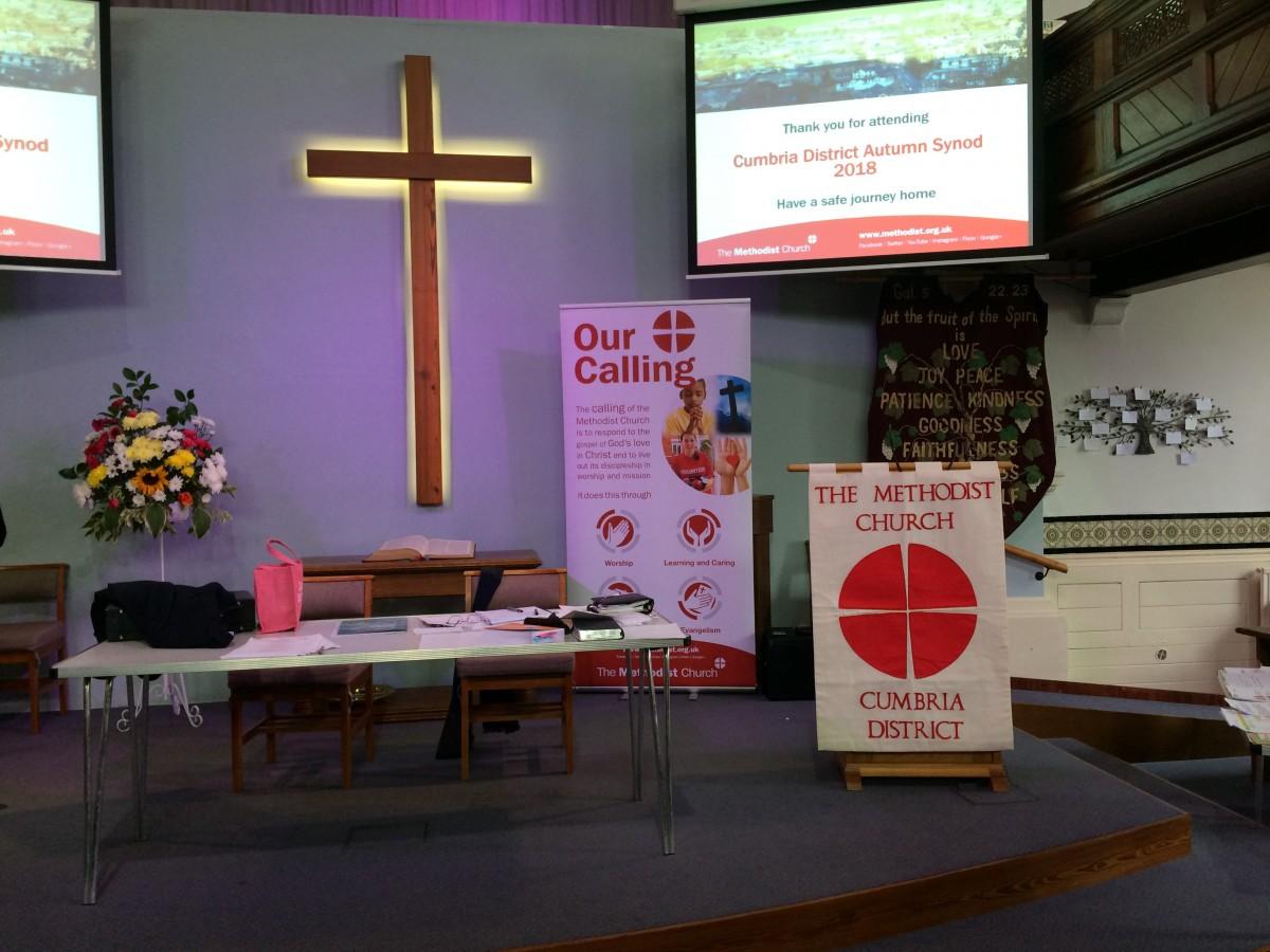 Cumbria District Synod held at Stricklandgate Methodist Church, September 2018