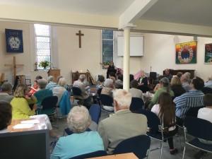 Saturday workshop at Kirkby Lonsdale