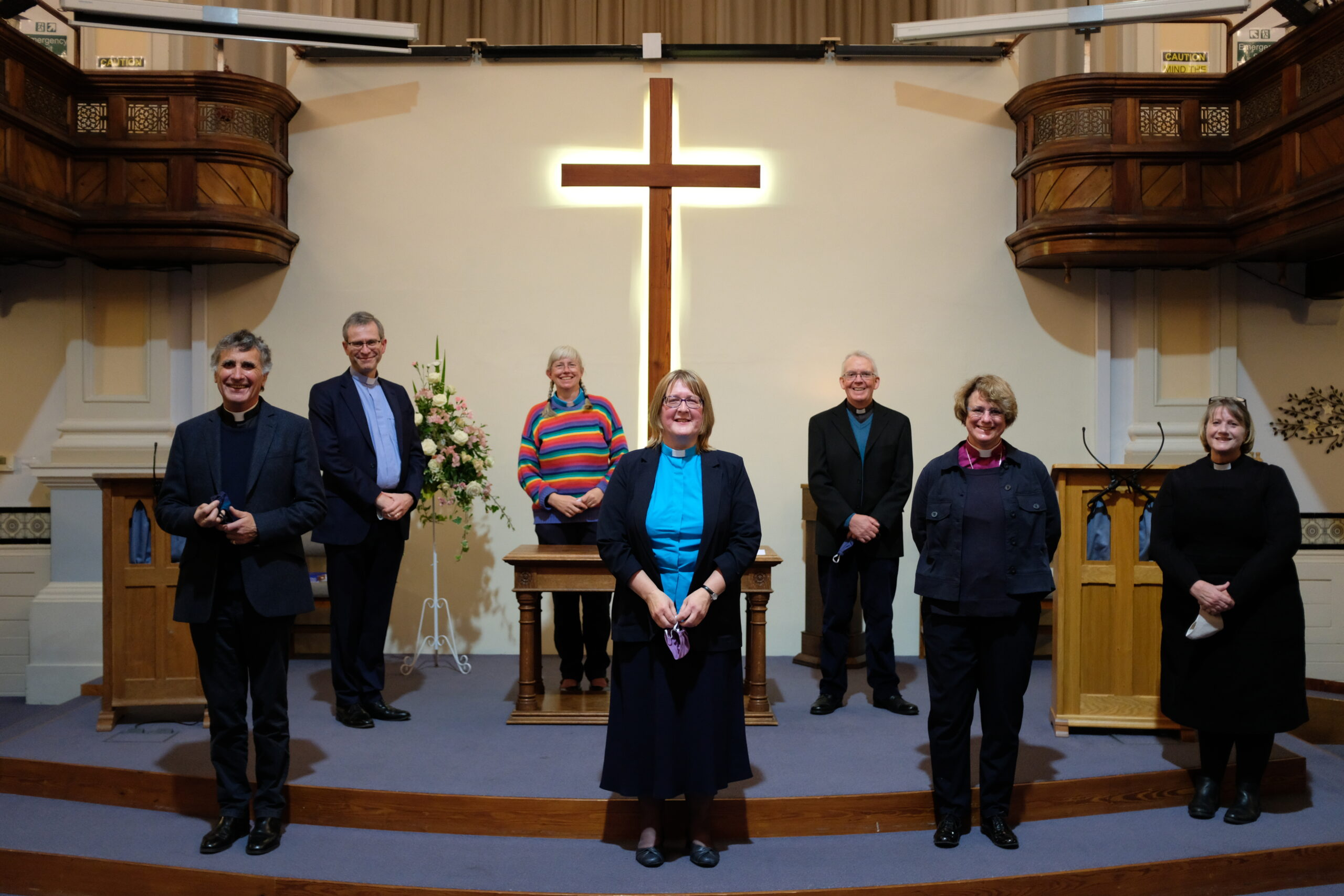 Ecumenical partners greet Rev Melanie Greenall, newly appointed Superintendent of Kendal Methodist Circuit